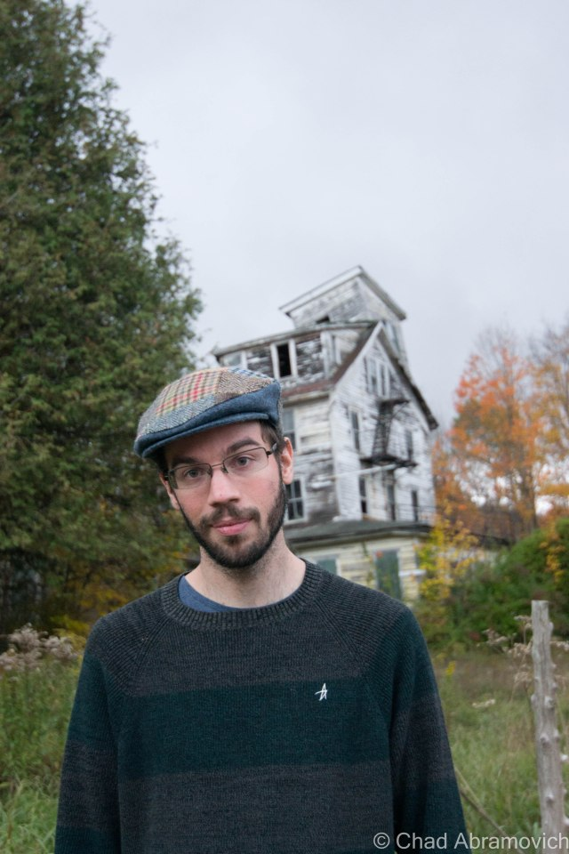 A much needed updated portrait. October 2014, outside the Cold Spring House.