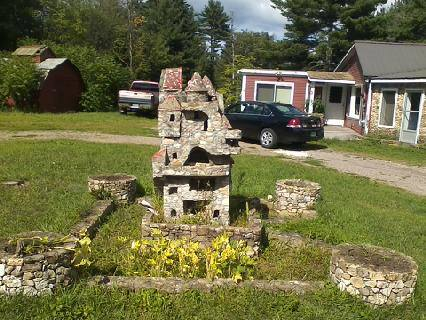 One of the Barber castles in Milton. The owner eventually wants to restore it to it's former glory. *bad cell phone picture - I know!
