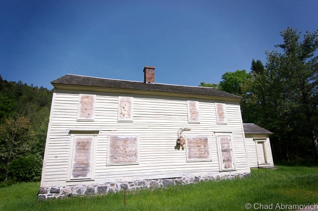 "MacNaughton Cottage (1845). This was the house that Vice President Theodore Roosevelt stayed in during his hike to Mount Marcy when he received news of President William McKinley being close to death after being shot in Buffalo, and is the only ""restored"" building in Tawahus."