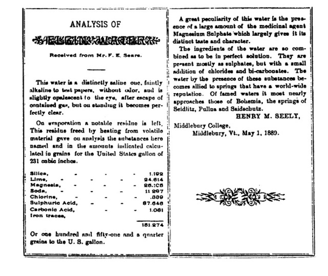 """The analysis of Elgin Waters"" – May 1st, 1889"