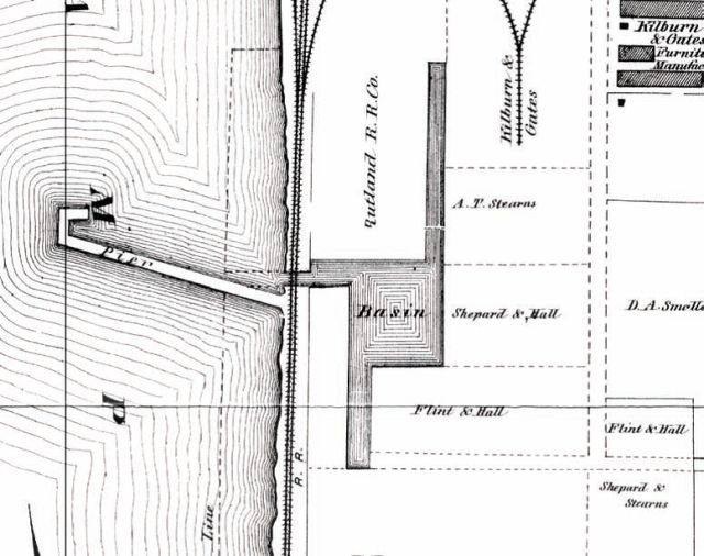 Pine Street Barge Canal, 1869. Image Source