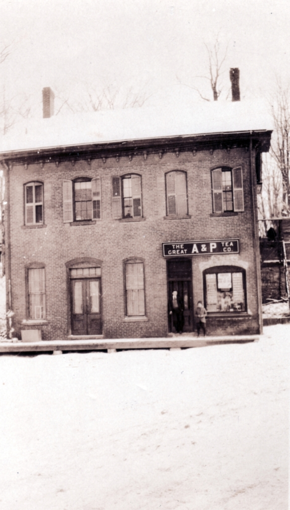 Joseph Clark's Office Building on the corner of RIver St (Route 7) and Main. Milton denizens today may recall it by it's former reincarnation, as Irish Annie's Pub.