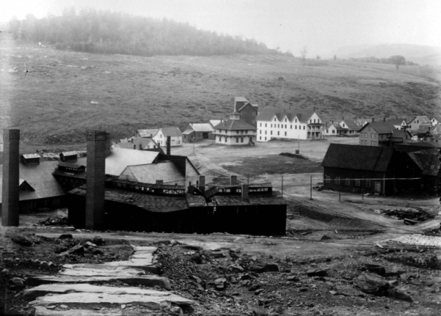 The village and the mine collectively became known as Copperfield, which would eventually become more prominent than Vershire, the actual town the mine was in. To make things a bit more interesting, Vershire would briefly change it's name to Ely in 1878, but was changed back to Vershire just 4 years later when the mine fell on financial troubles it would never recover from.